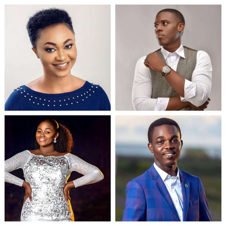 Some rising gospel artistes who came strongly into the limelight in 2018