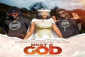 DopeNation x Adelaide The Seer – What A God